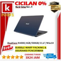 ASUS E203MAH-FD411T Star Gray - DualCore N4000-4GB-500GB-Win10