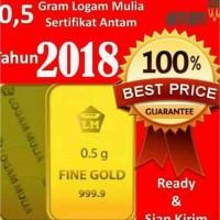Promoo Emas Antam 0.5 Gram Antam Gold 05 Gr Logam Mulia Antam 0.5