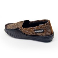 Sepatu ardiles cowok ardiles waka coklat model kekinian keren banget