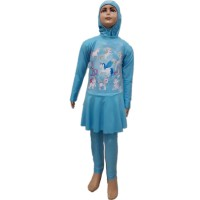 Baju Renang Anak Muslim SD Size M My Little Pony Unicorn Kuda Poni 1