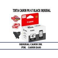 Tinta Canon Pg 47 Black Original Cartridge