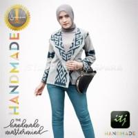 Blazer Batik Wanita Tenun Blanket Etnik Modis Spesial