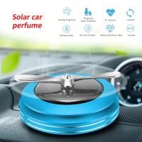 Pewangi Dashboard Mobil Aromatherapy Diffuser Solar Car Air Freshener
