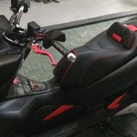 kulit jok custom honda pcx aksesoris motor