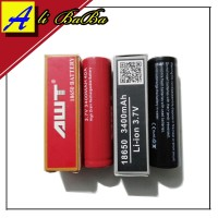 Baterai AWT 18650 IMR Red - Black 40A 3300mAh Authentic Best Quality