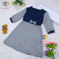 Dress Eliza Anak Uk 3-4 Tahun / Model Tunik Gamis Motif Baju Ngaji