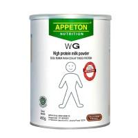 Appeton Weight Gain Susu Gemuk Rasa Cokelat/Vanila (Dewasa) - 450 Gram