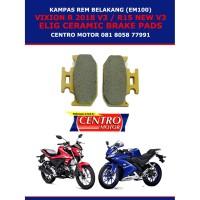 KAMPAS REM NEW VIXION R V3/NEW R15 V3 ELIG EM100 (BELAKANG)