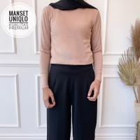 Manset Uniqlo Inner Kaos Premium Manset Baju Super Adem Inner Baju