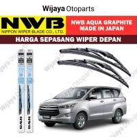 Wiper depan Innova Reborn uk. 26&16 - NWB Japan Aqua Graphite