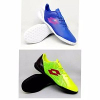 Sepatu Futsal Lotto Blade In green Black / blue white Termurah