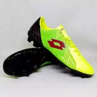 Sepatu Bola Lotto Blade fg green Black Termurah