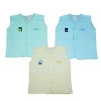 Baju Bayi Hachi/Baju Kancing Lengan Buntung Uk. 16 (1 lusin)