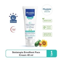 Mustela Stelatopia Emollient Cream FACE 40 ml - Krim Wajah Bayi 40ml