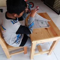 Kursi Anak PAUD, TK, SD / Bangku Sekolah / Kursi Belajar /Tempat Duduk