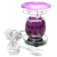 JAP Purple Electric Scented Oil Warmer Lampu Lilin Dengan Bulb