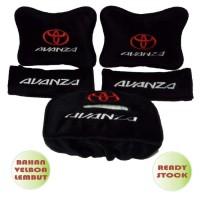 Bantal Jok Mobil Car Seat Headrest 3 in 1 Avanza