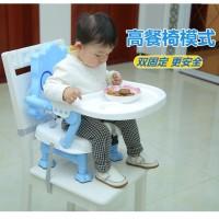 BABYCHAIR meja kursi makan bayi lipat / tempat anak makan minum