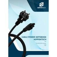 KABEL POWER NOTEBOOK 1,8 METER NIPPON TECH