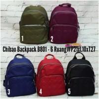 CB801 tas ransel/back pack wanita import chibao