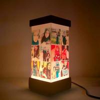 custom lampu kolase