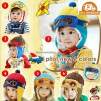 Topi Pilot Korea / Topi Bayi / Topi Anak / Winter Pilot Hat Fashion