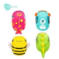 Inone Tas Ransel Anak motif 3D Panda Lebah Dinosaurus untuk Laki dan