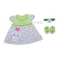 Dress baju set bayi pakaian anak perempuan fashion terusan cewek lucu