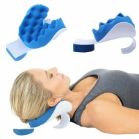Bantal Capek Sakit Tulang Leher Kepala Punggung Relax NecK Revitalizer