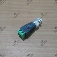 Konektor Jack DC BNC Male / CCTV Connector / Video Balun Coaxial