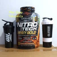 Muscletech Nitrotech Whey Gold WheyGold 5.5 Lbs Lb 5.5Lbs Protein 5,5