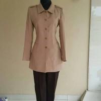 Set Baju Blazer Pramuka Wanita Kakak Pembina Muslimah Guru Pegawai