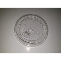 Tutup Gelas Plastik Tanpa Sedotan / Strawless Lid / Cheese Lid