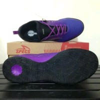 Sepatu futsal specs metasala musketeer deep purple 400738 original