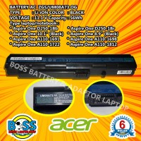 Baterai 100% Original acer UM08A73 Laptop Series ZG5 AO531 A100 A110