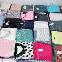Paket Usaha Baju Import Baju Sejuta Sekarung Baju Mini Bal Segel