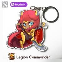 Gantungan Kunci / Keychain Dota 2 - Legion Commander