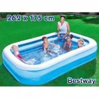 Kolam Renang Anak Bestway 54006 Kotak Polos Besar 262 cm