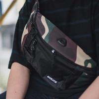 Tas Waist Bag Pria Zest Army / Sling Bag / Selempang HARLOTH