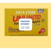 Perdana Indosat Freedom INTERNET 10 GB
