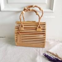 Tas Bambu Clutch Kerajinan Bamboo Handbag Bag