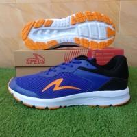 Specs Evo (Sepatu Running/Lari) - Blue/Black/Orange