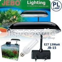Lampu Jepit Aquarium Jebo JB15