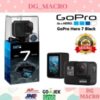 GOPRO HERO 7- ACTION CAM - GARANSI RESMI / BLACK DUST WHITE