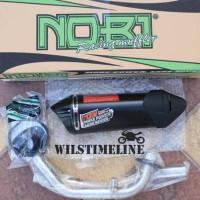 Knalpot Nobi Neo Ss Untuk Motor Honda Sonic-Supra Gtr 150