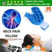Neck Pain Relief Pillow Bantal Relaksasi Tulang Leher Punggung Terapi