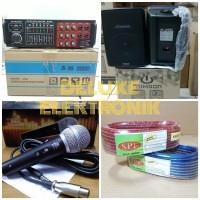 paket karaoke bluetooth rumah paketan sound system rumah audio sistem