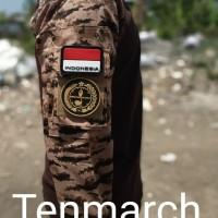 Kaos pria wanita Baju Pramuka Atasan Pelatih Tactical Boyscout pakaian
