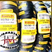 Ban Pirelli Diablo Rosso Sport 90 80 Ring 17 All Vixion - MX King - Cu