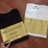 tshirt baju kaos BALENCIAGA HARLEM GOLD - HIGH QUALITY